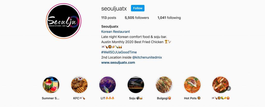 Seoulju instagram