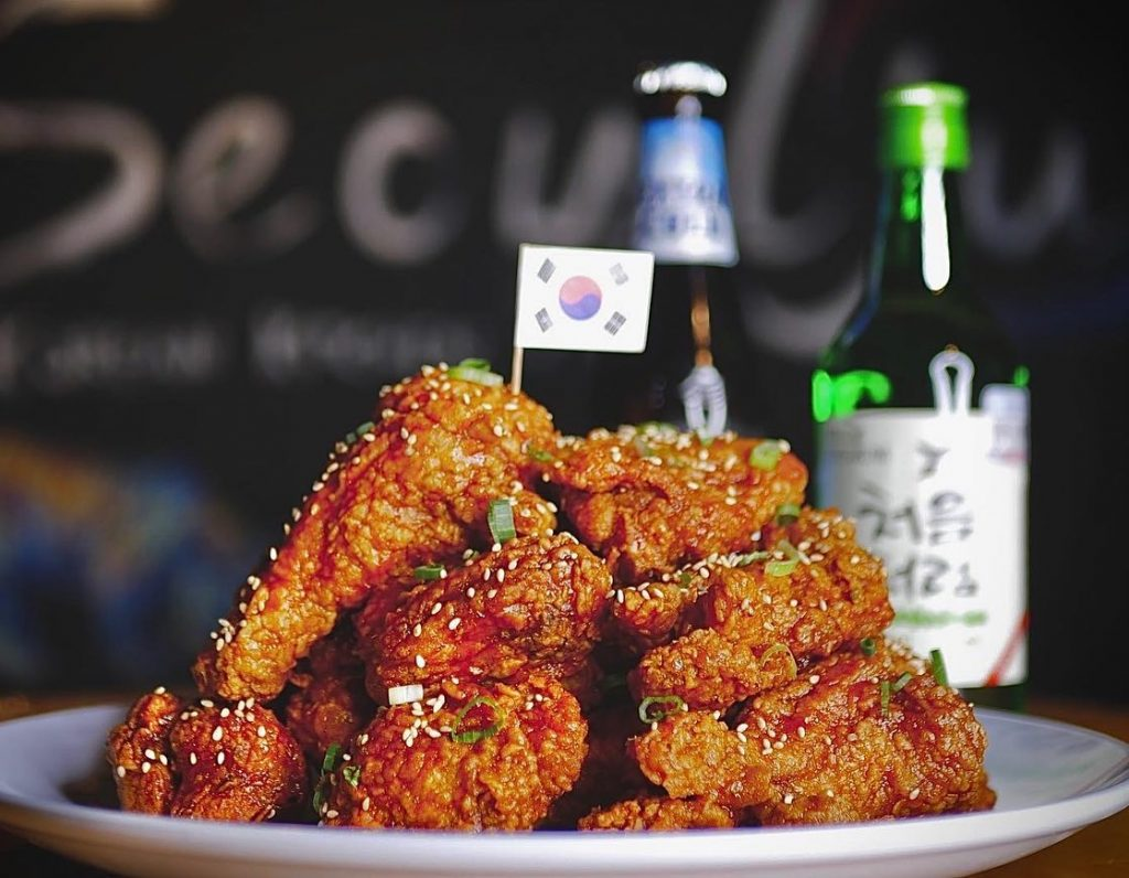 Seoulju korean kitchen chicken
