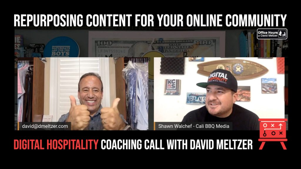 Podcast cover image - dh050 david meltzer coaching call