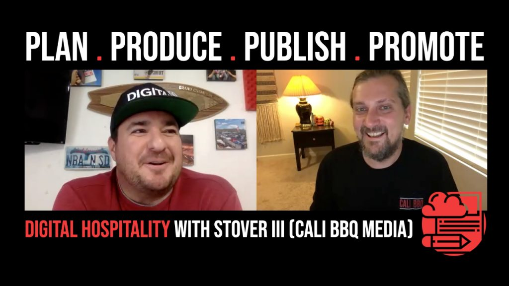 The Four Ps of Content Creation on Digital Hospitality podcast Stover Harger III
