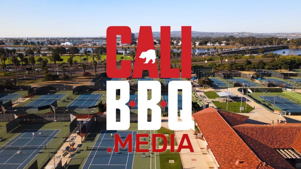 Cali bbq media at barnes tennis center
