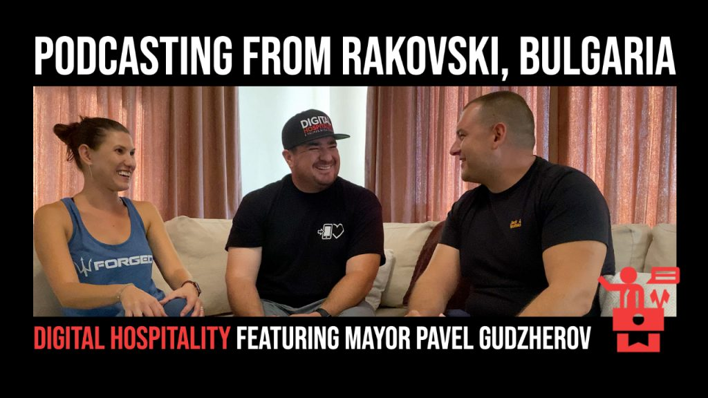 Podcast Cover Image - DH054 Mayor Pavel Gudzherov Interview Episode