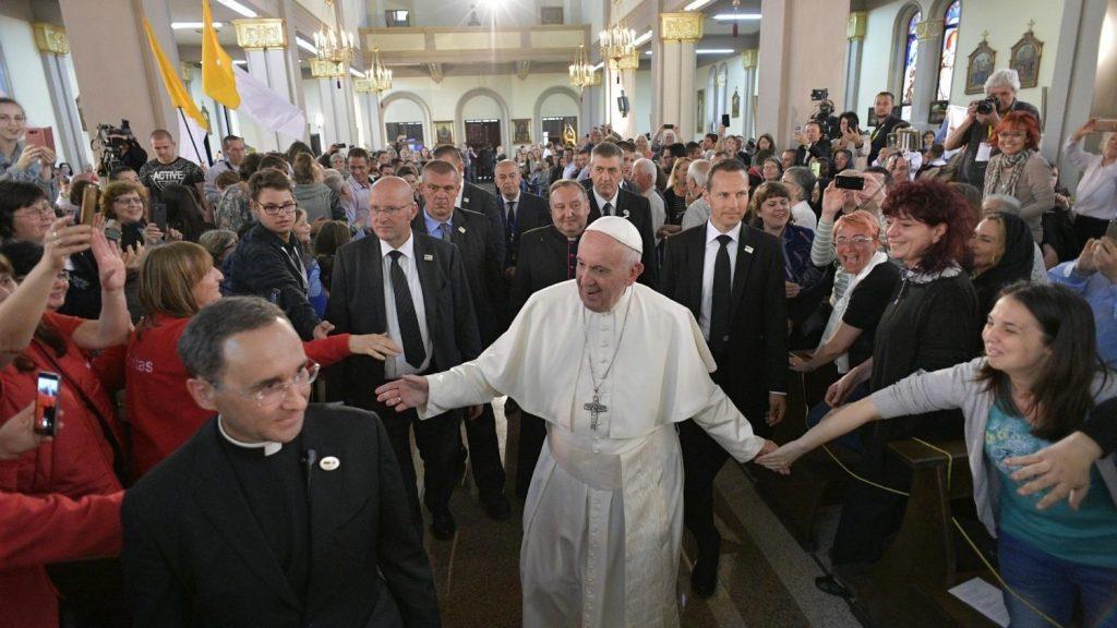 Pope in rakovski bulgaria