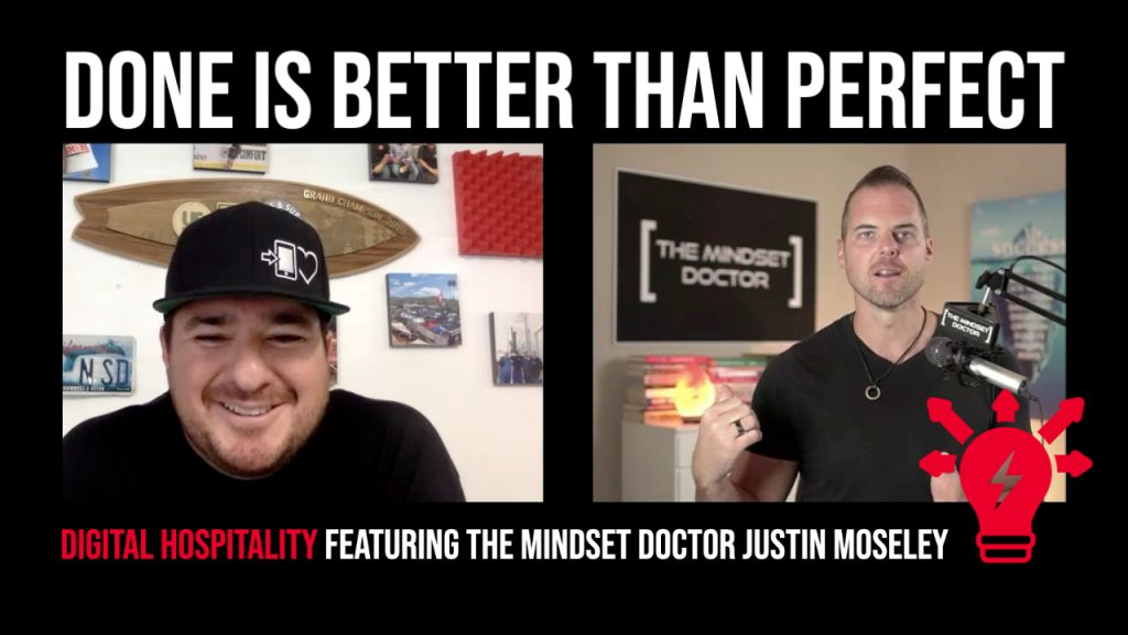 Podcast cover image - dh062 the mindset doctor justin moseley