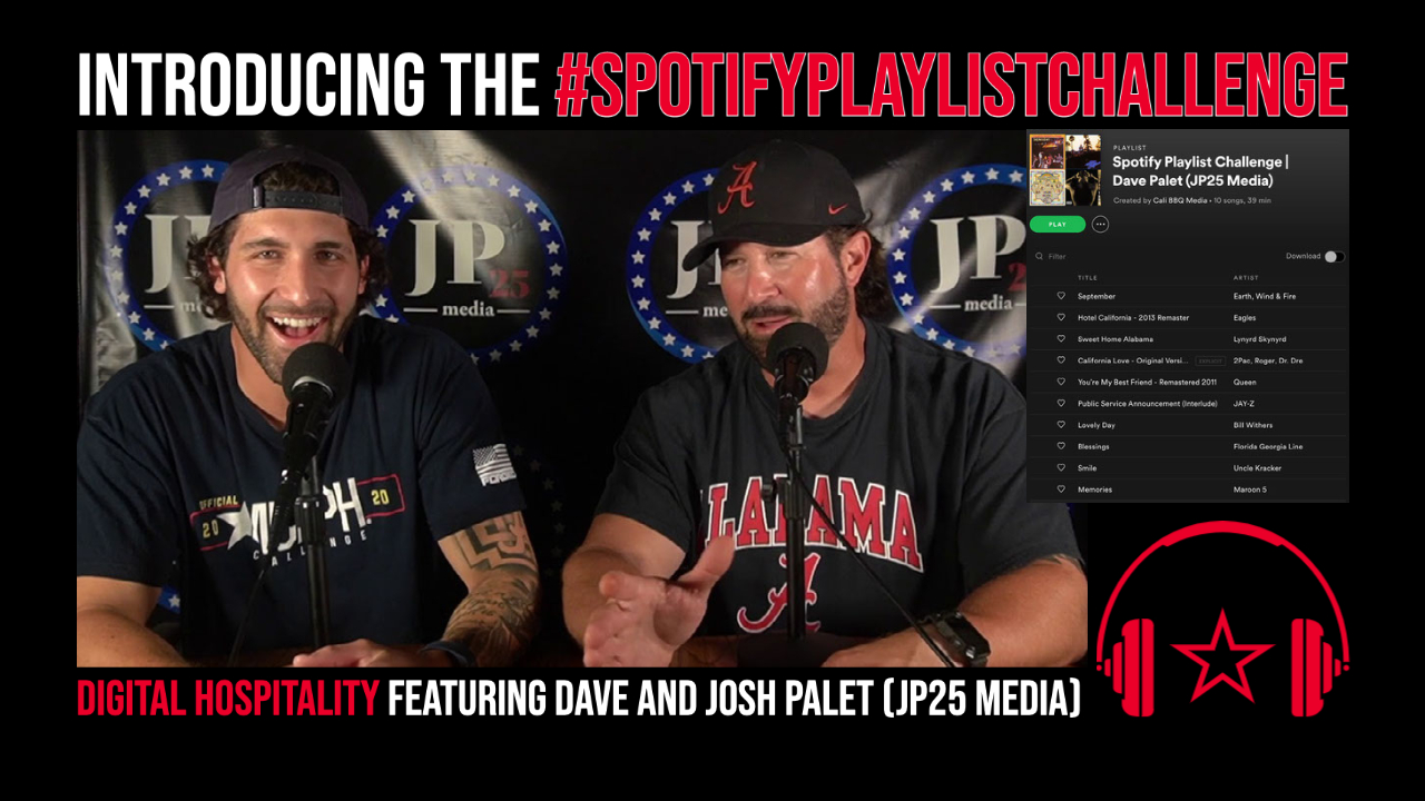 DH064 Dave Palet Spotify Challenge Playlist