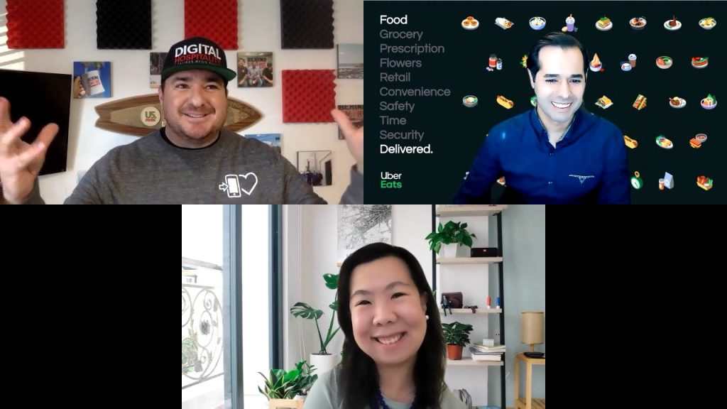 Uber eats interview with francisco bram and therese lim