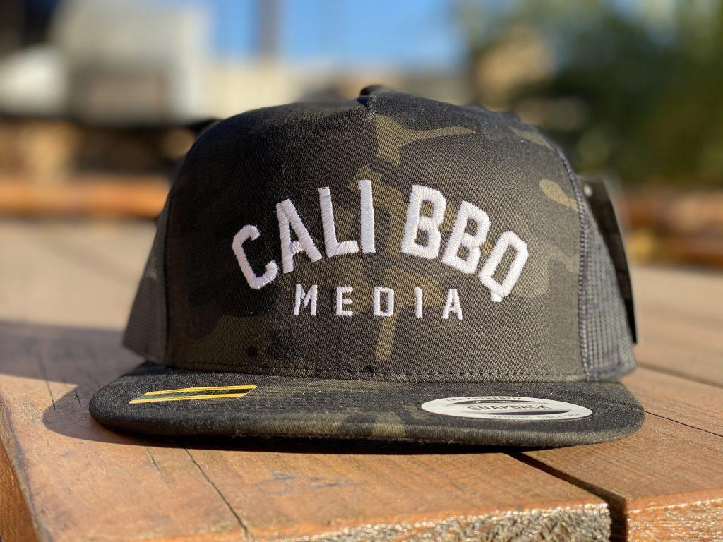Cali bbq media camo hat