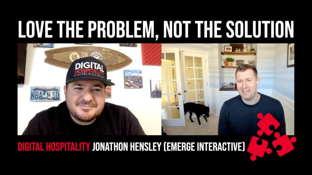 Podcast cover image for episode dh067 jonathon hensley emerge interactive