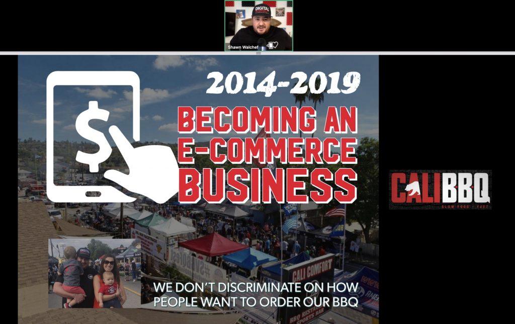 Cali bbq restaurant owner webinar: 2014-2019