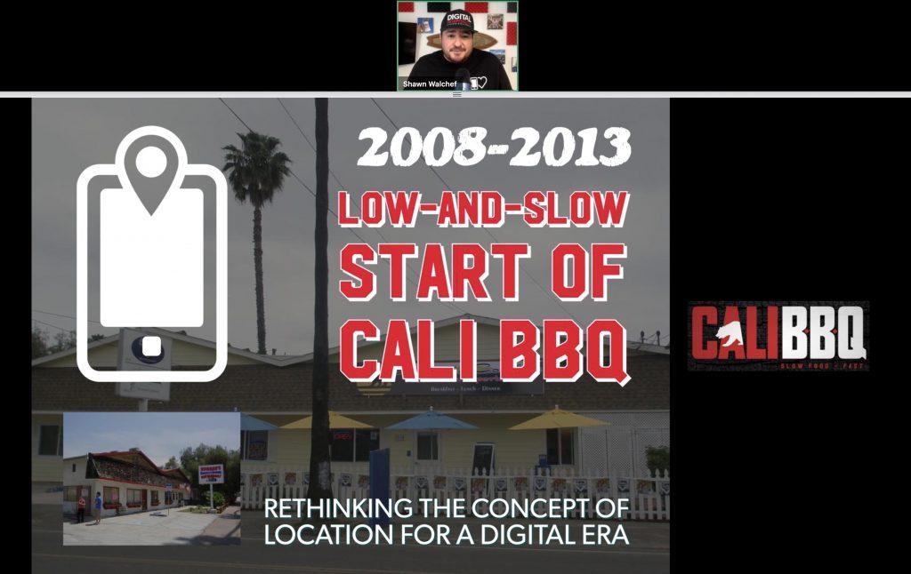Cali bbq restaurant owner webinar slide: 2008-2013