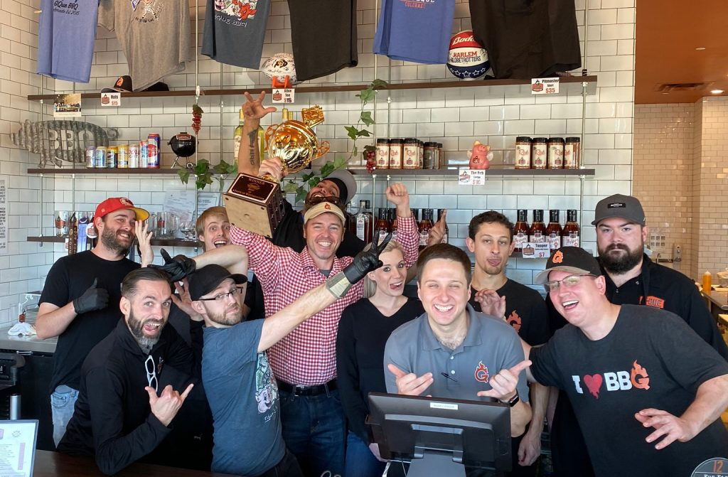 Gque barbeque staff photo