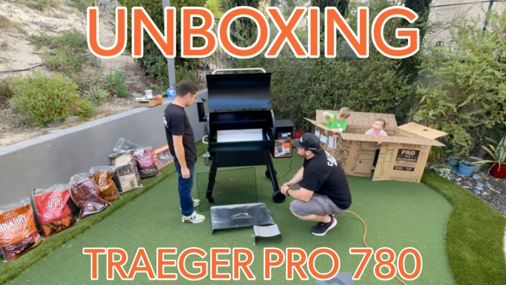 Unboxing traeger pro 780 video