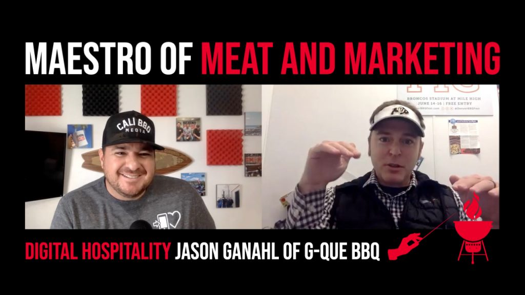 Podcast cover image - dh079 gque bbq jason ganahl