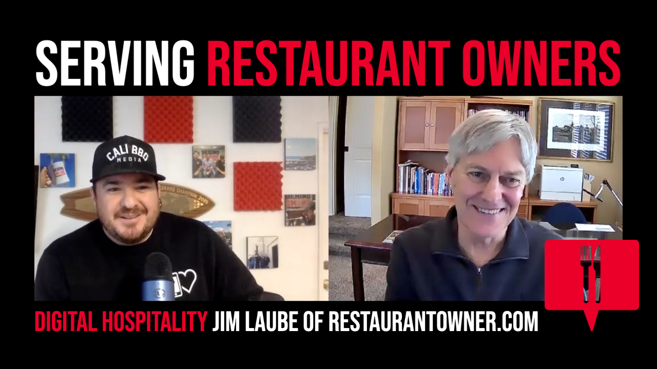 Serving restaurant owners interview with jim laube on the digital hospitality podcast