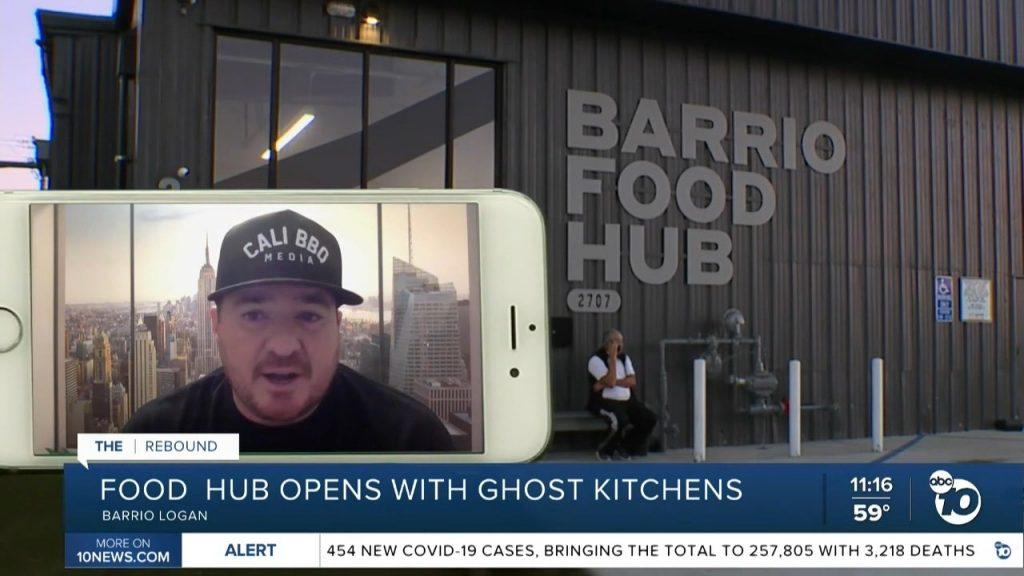 Abc10 news the rebound barrio food hub shawn walchef interview
