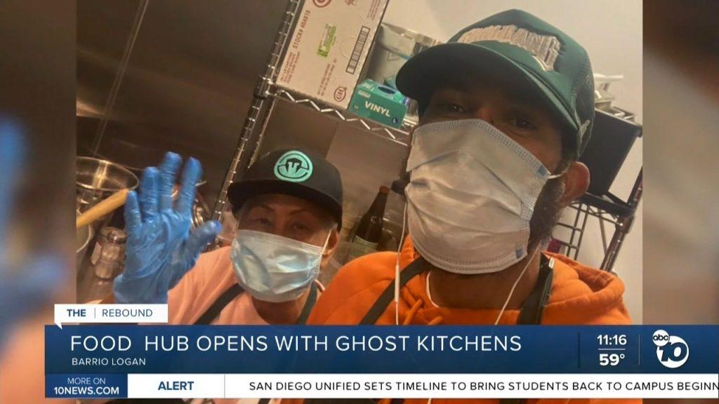 Abc10 news the rebound barrio food hub willie wingz