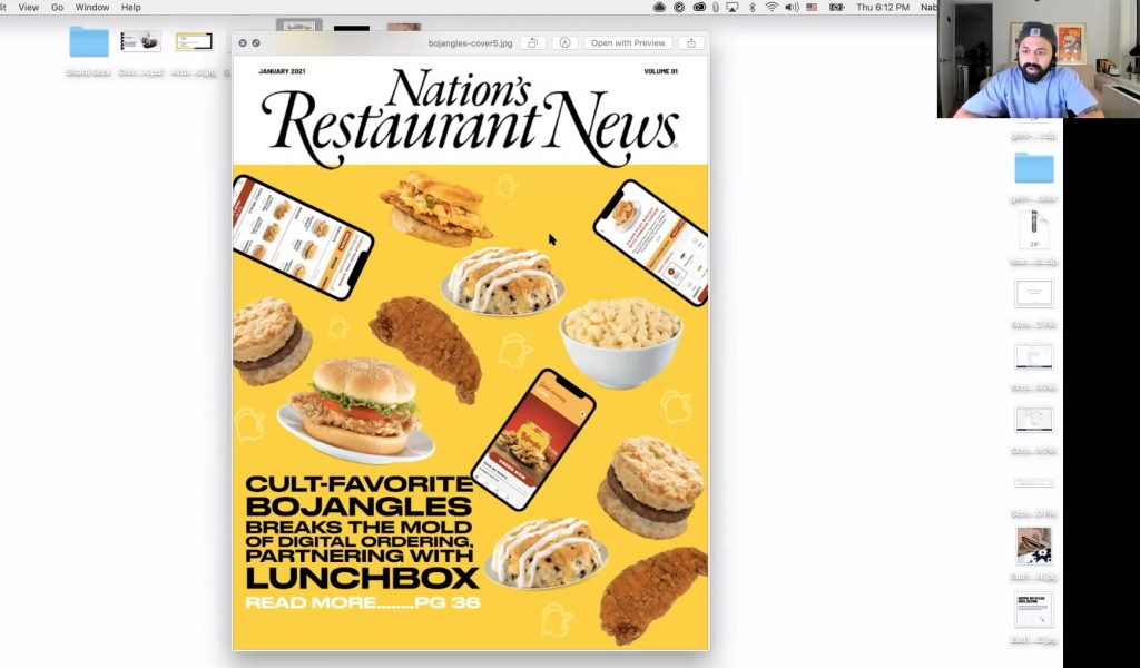 Lunchbox nrn cover visualization bojangles