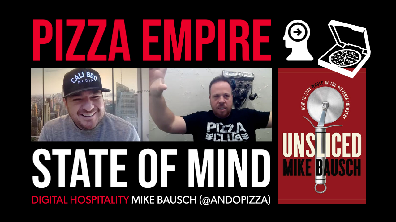 Mike bausch from @andopizza is a guest on the digital hospitality podcast