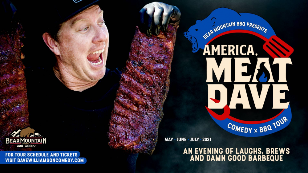 America meat dave comedy and bbq tour 2021