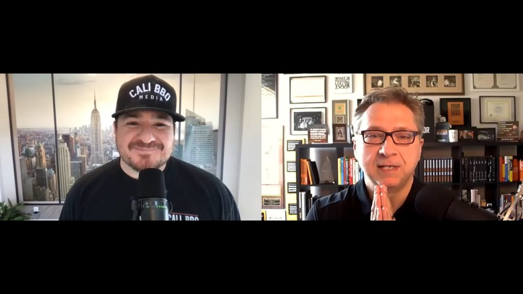 Shawn walchef interviewing donald burns (the restaurant coach) on the digital hospitality podcast.