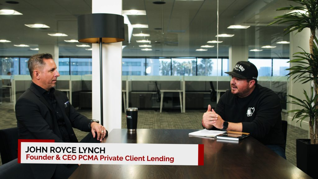 John royce lynch, ceo of pcma private client lending is interviewed by shawn walchef for the digital hospitality podcast.