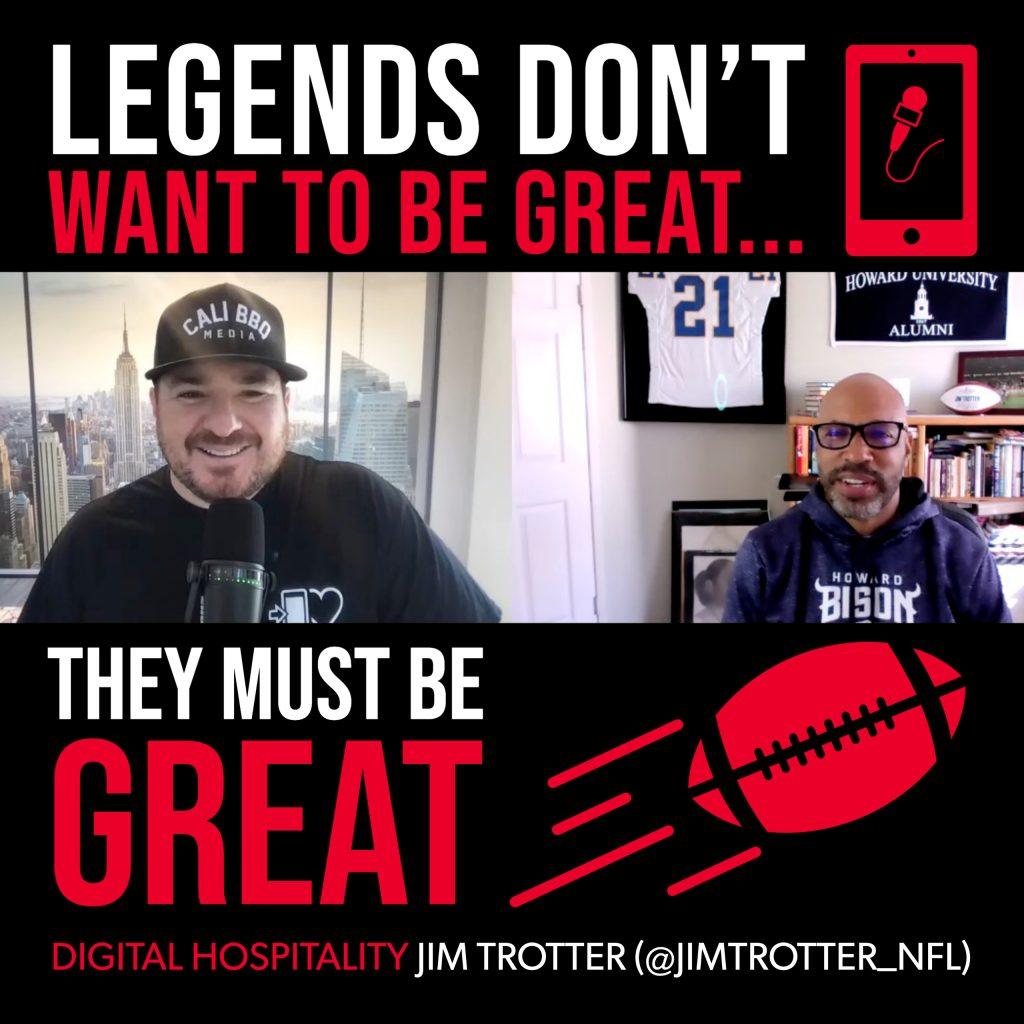 Jim trotter interview on the digital hospitality podcast in april 2021