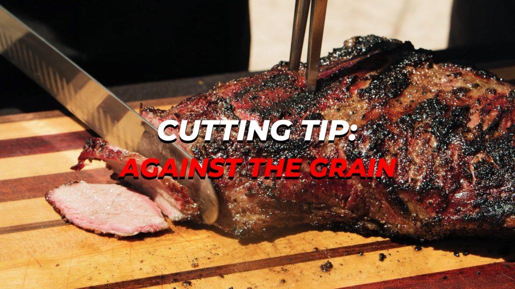 Title cutting tri tip