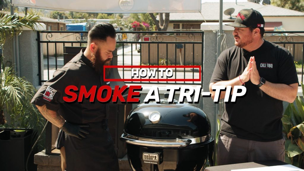 How to smoke a tri tip on a weber grill