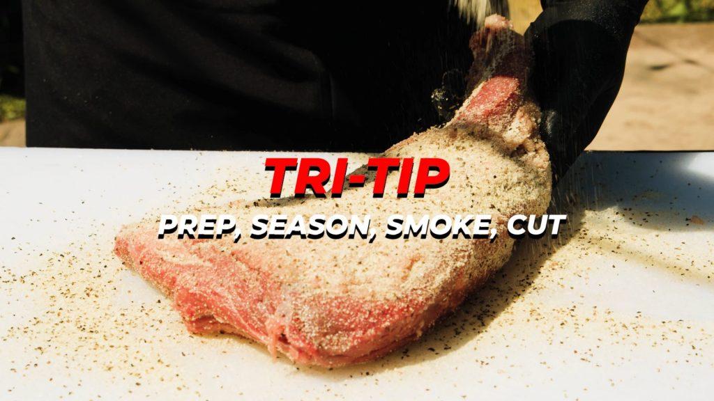 Title prep sear smoke cut