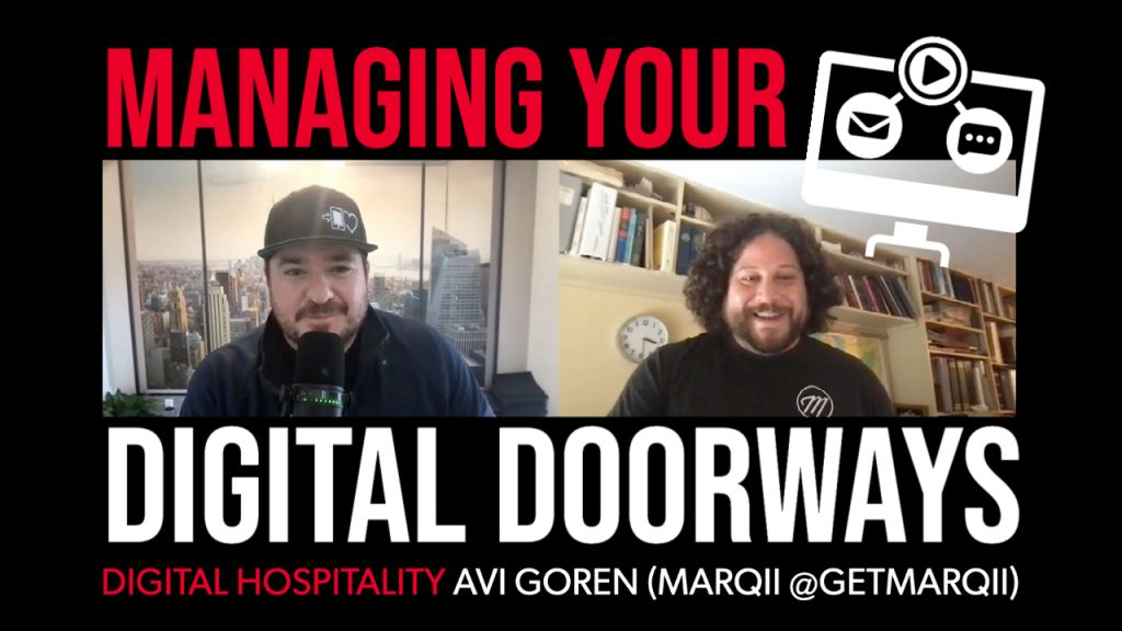Digital Hospitality podcast interview with Marqii CEO Avi Goren