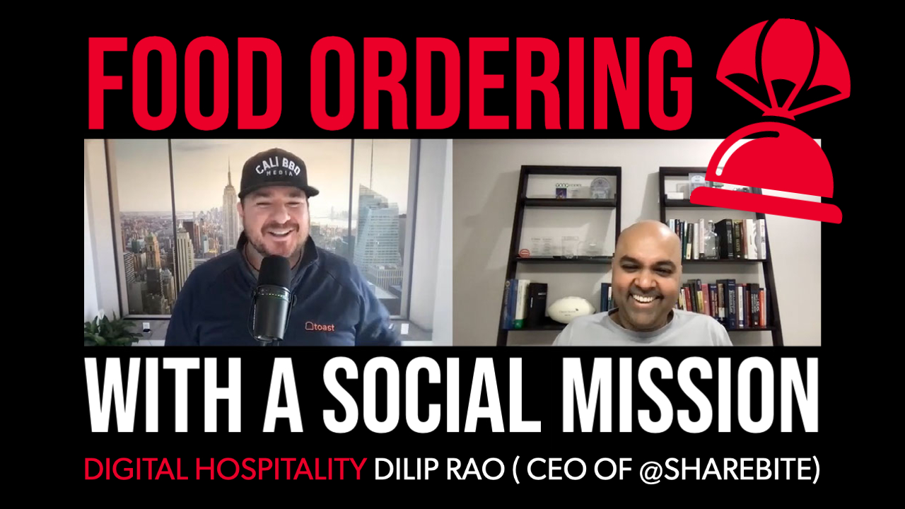 Dilip rao sharebite interview on digital hospitality podcast
