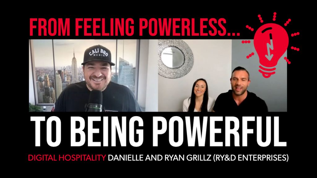 From feeling powerless to being powerful digital hospitality podcast episode