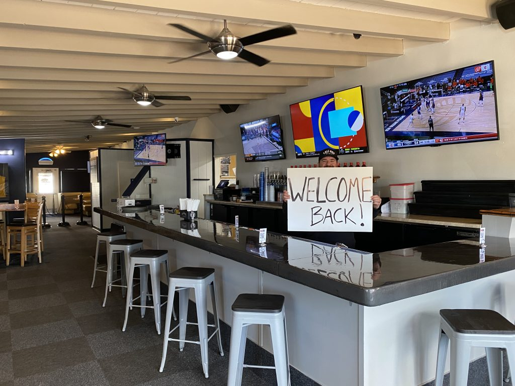 New bar at cali bbq in spring valley