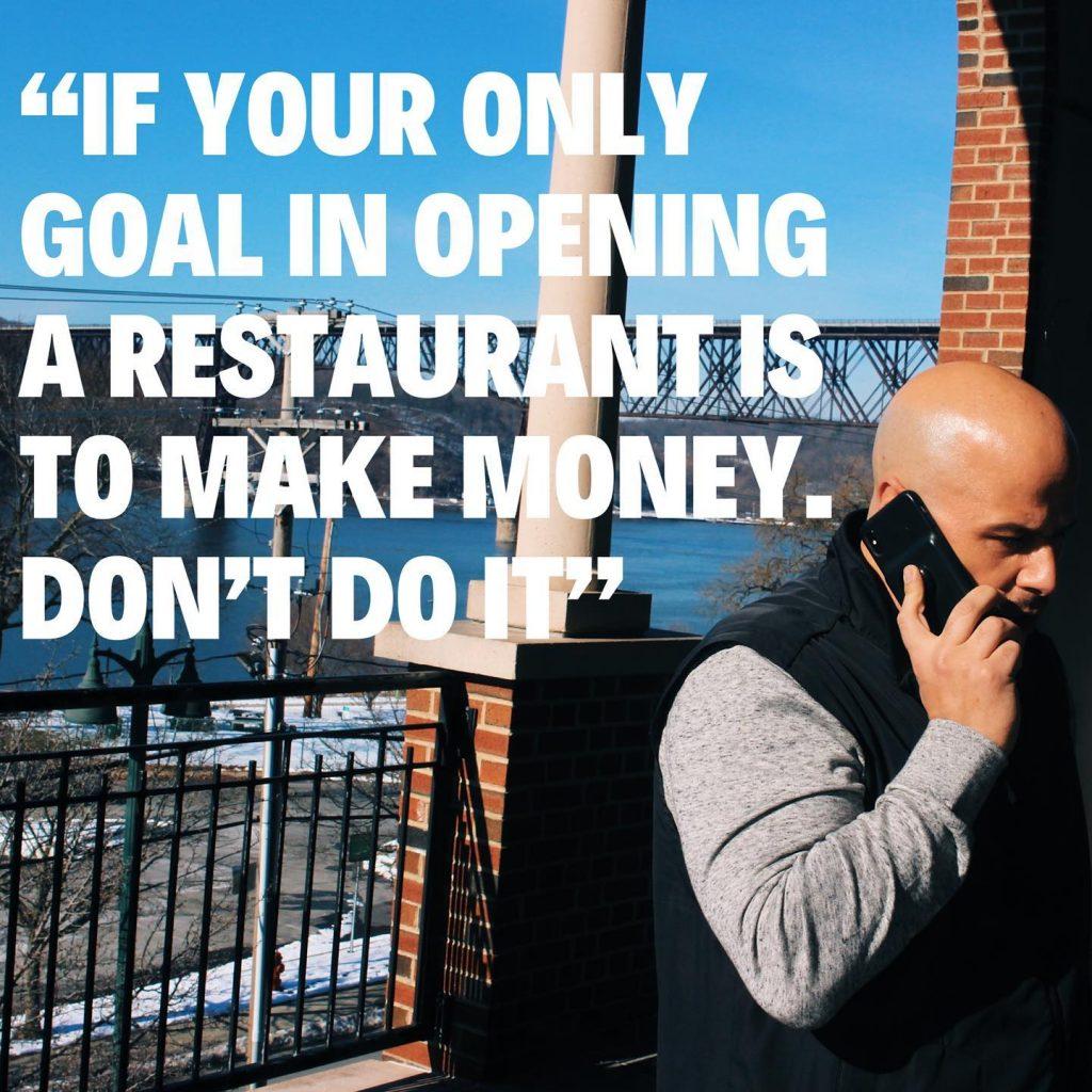 Kyle inserra restaurant quote
