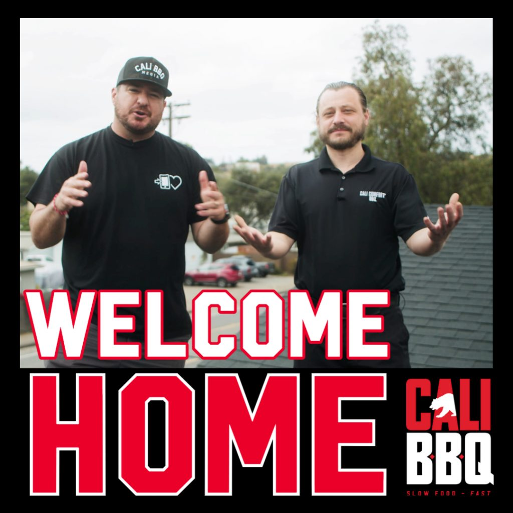 Welcome home to cali bbq