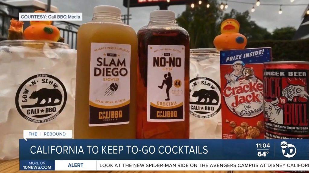 Abc 10 news segment june 2021 cocktails to go