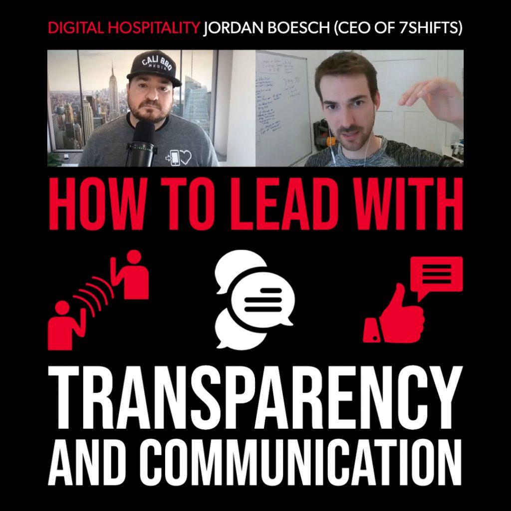 Jordan boesch of 7shifts on digital hospitality podcast