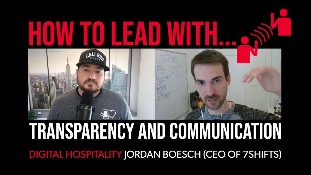 Jordan boesch 7shifts on digital hospitality
