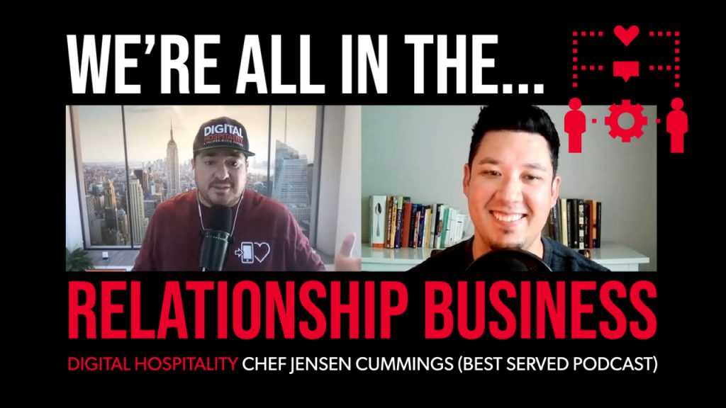 Jensen cummings interview on the digital hospitality podcast