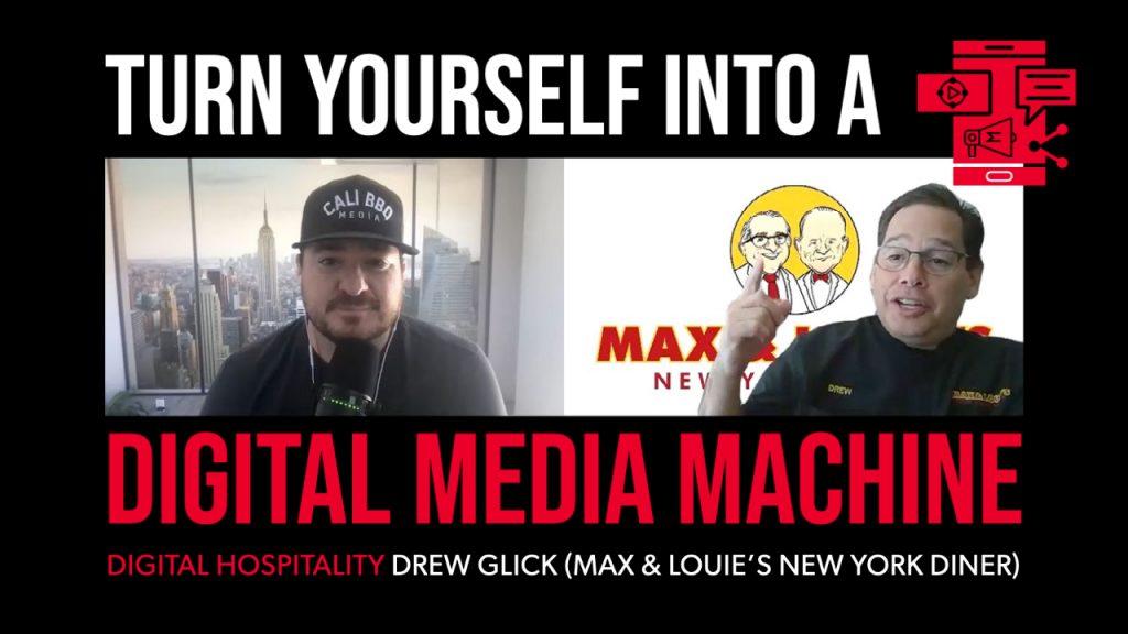 Drew glick on the digital hospitality podcast
