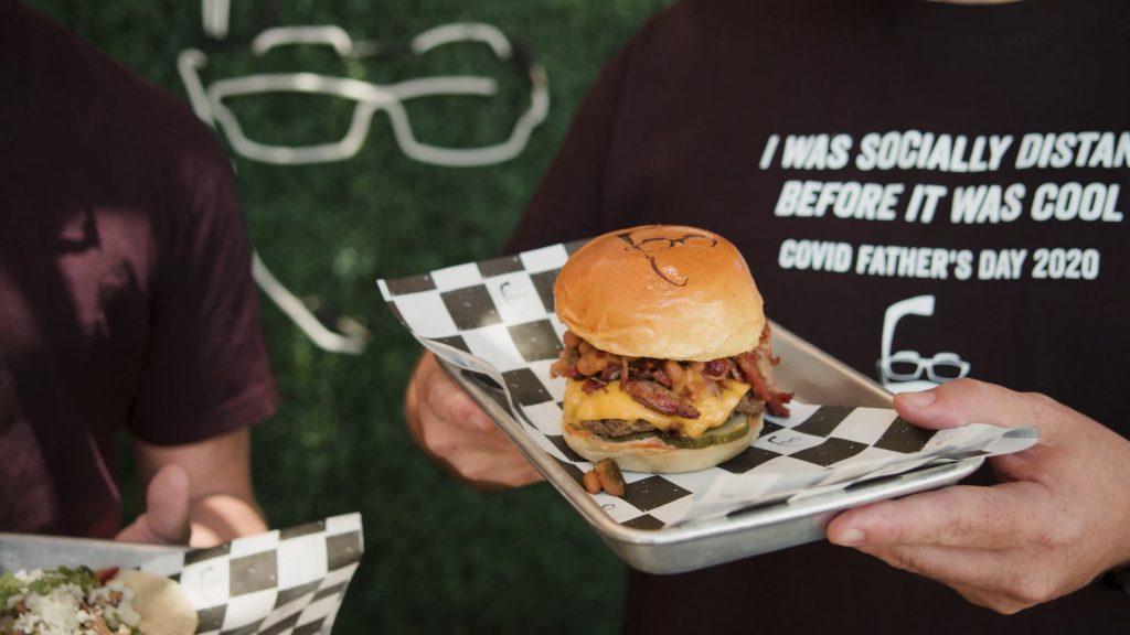 The picnic samburgers and cali bbq