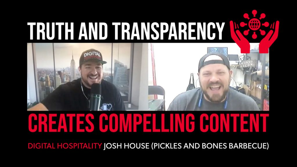 Josh house of pickles and bones barbecue on digital hospitality podcast