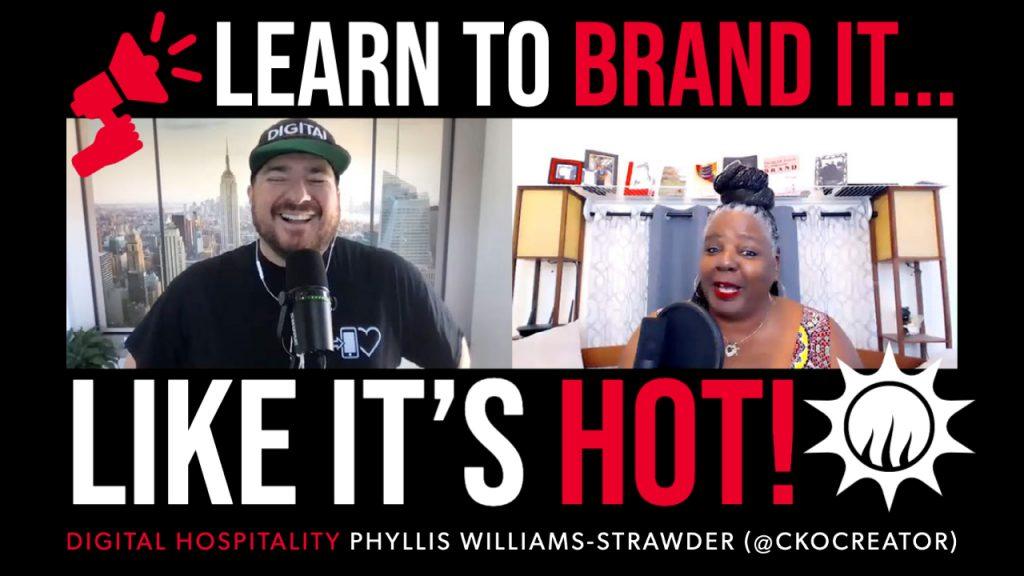 Phyllis williams-strawder of cko creator on the digital hospitality podcast