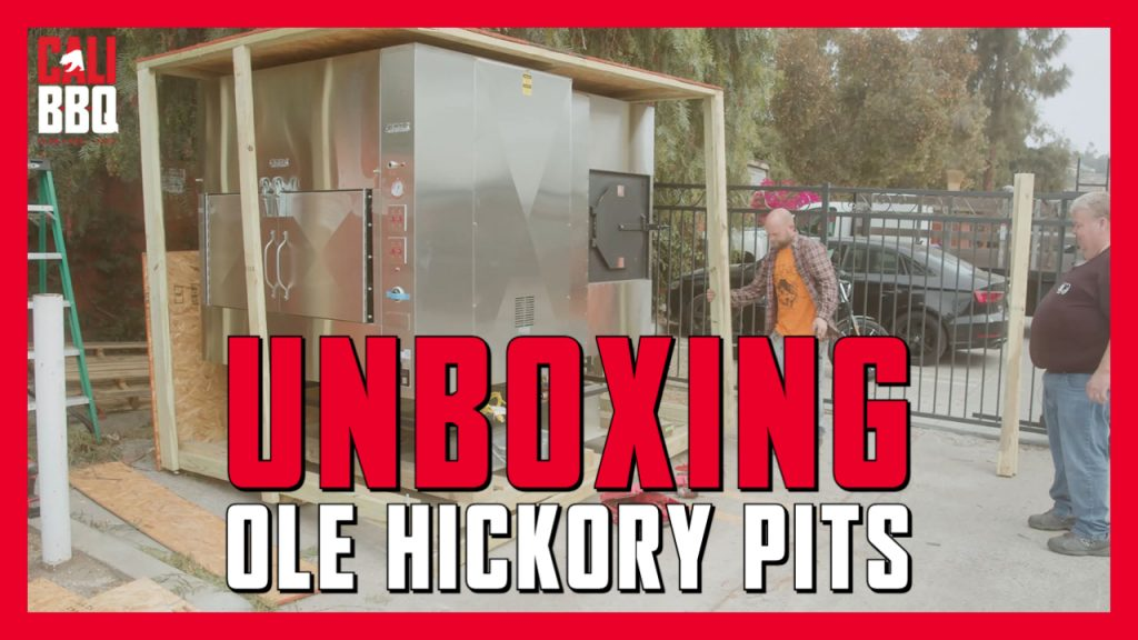 New ole hickory pits smoker at cali bbq is part of a growing master smokehouse