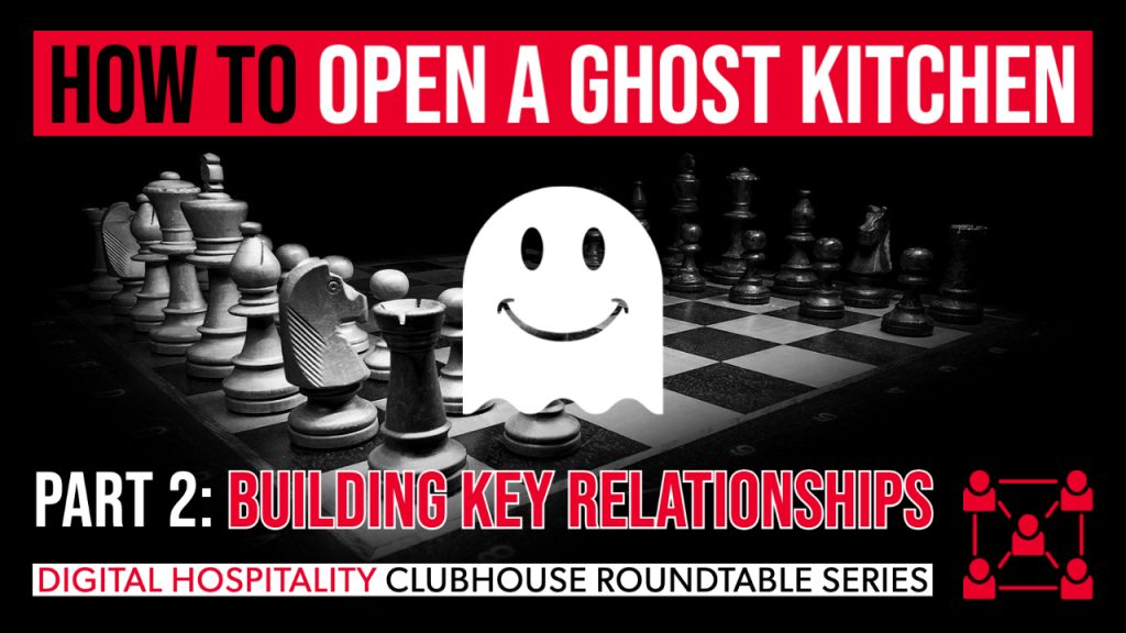 Building key relationships conversation on digital hospitality podcast