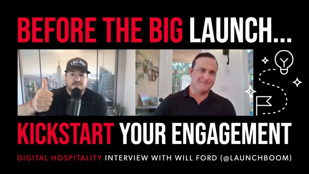 Before product launch, kickstart your engagement with launchboom