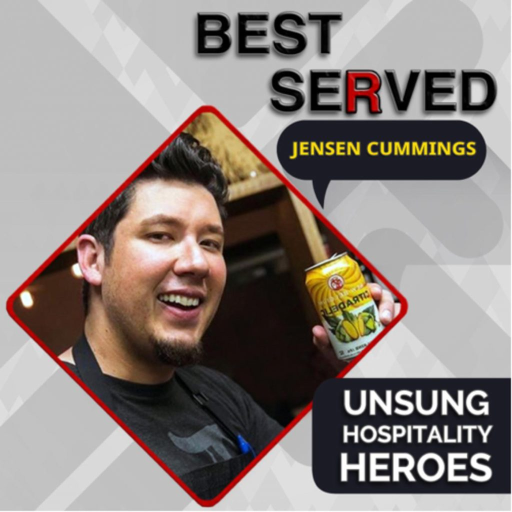 Best served podcast cover