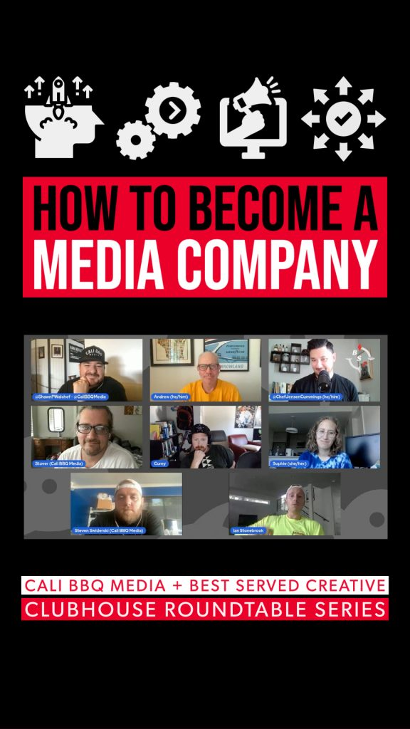 Best served collab how to be media company - story
