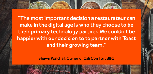 Shawn walchef quote from toast email newsletter