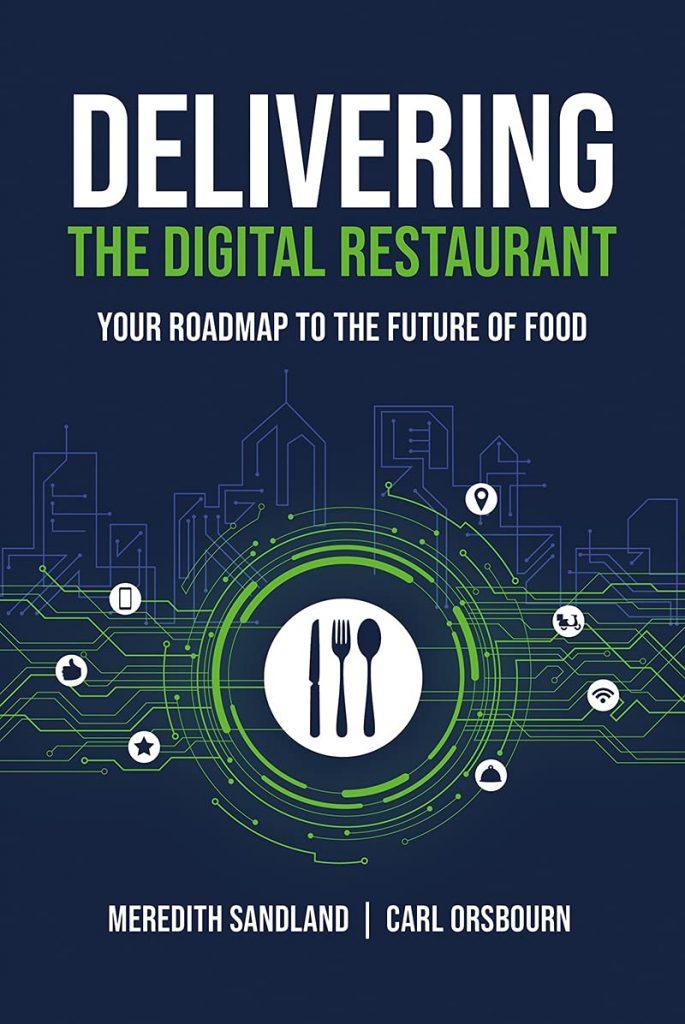 Delivering the digital restaurant book cover